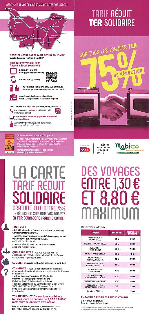 Carte TER SOLIDAIRE