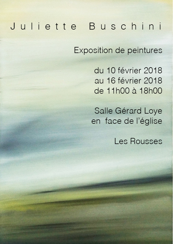 Exposition - Juliette BUSHINI